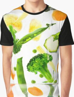 Healthy Vegetables Graphic T-Shirt