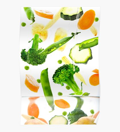 Healthy Vegetables Poster