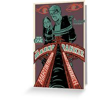Vintage Poster - The Blind Banker Greeting Card