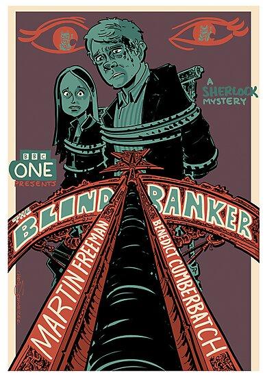 Vintage Poster - The Blind Banker by Chris Schweizer