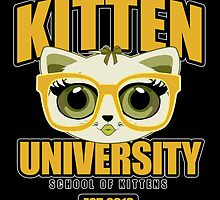 Kitten University - Yellow 2 by Adamzworld