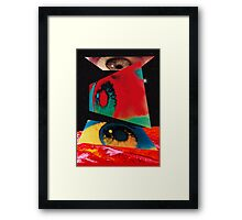 2001 Eyes Framed Print