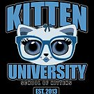Kitten University - Blue 2 by Adamzworld