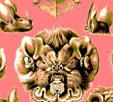 Bat Face Sticker
