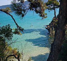 Aegean Blue by Paul Barnett