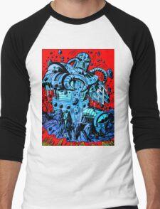 Blue Demon Men's Baseball ¾ T-Shirt