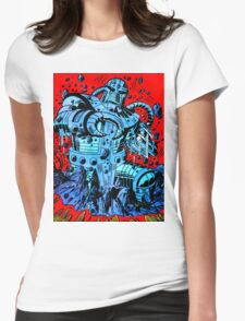 Blue Demon Womens Fitted T-Shirt