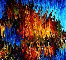 modern composition 18 by rafi talby by RAFI TALBY