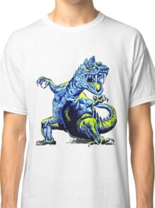 Old Blue Dinosaur Classic T-Shirt