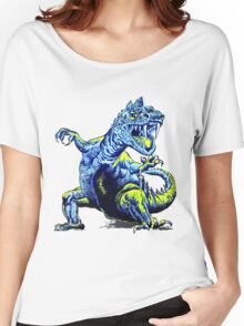 Old Blue Dinosaur Women's Relaxed Fit T-Shirt