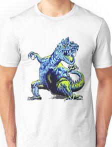 Old Blue Dinosaur Unisex T-Shirt