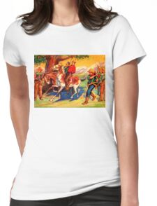 DIY WesternStyle Justice Womens Fitted T-Shirt