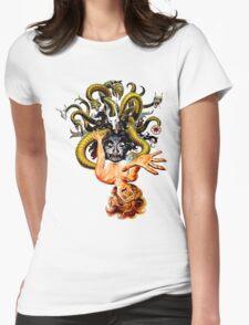 Dunwich Lovecraft Womens Fitted T-Shirt
