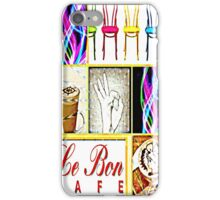 Le Bon cafe iPhone Case/Skin