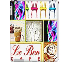 Le Bon cafe iPad Case/Skin