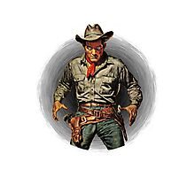 Classic Gunslinger Photographic Print