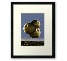Magritte Version Framed Print