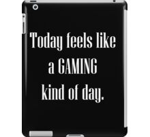 Game All Day iPad Case/Skin