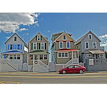 Painted Ladies of Somers Point NJ Photographic Print