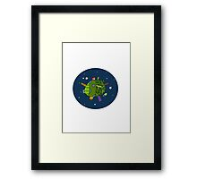 It's a Small World Framed Print