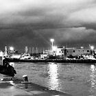 Serata nuvolosa sul fiume by orsinico