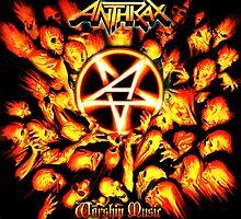 ANTHRAX WORSHIP MUSIC TOUR 2016 by maskoko