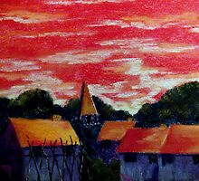Red Sky At Night by artyfax