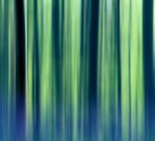 abstract forest Sticker