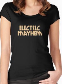 Electric Mayhem Women's Fitted Scoop T-Shirt