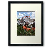Sweater Plateau Framed Print