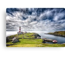 Eilean Glas Lighthouse Canvas Print