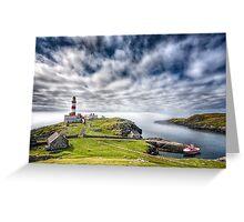 Eilean Glas Lighthouse Greeting Card