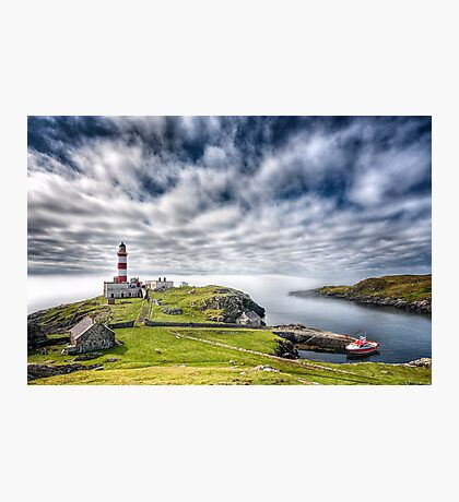 Eilean Glas Lighthouse Photographic Print