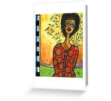Does HE Love Me? Greeting Card