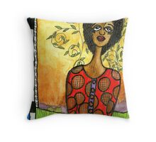 Does HE Love Me? Throw Pillow