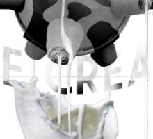 """Real Dairy"" Ice Cream / Bumble Juice Sticker"