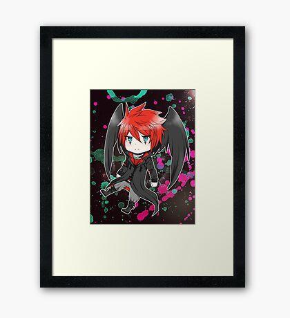Thor Chibi Framed Print