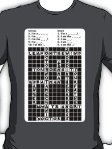 Crossnerd Puzzle T-Shirt