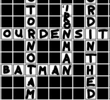 Crossnerd Puzzle Sticker
