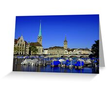 Limmat River Greeting Card