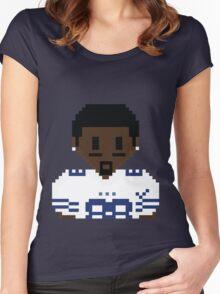 8Bit Dez Bryant 3nigma White 2 Women's Fitted Scoop T-Shirt