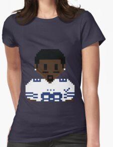8Bit Dez Bryant 3nigma White 2 Womens Fitted T-Shirt
