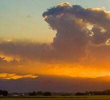 Colorado Atomic Sunset by Greg Summers
