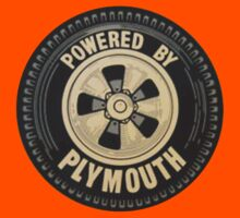 Powered By Plymouth Tire Logo by No17Apparel