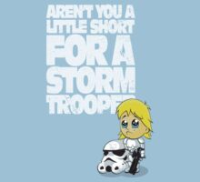Aren't You a Little Short for a Storm Trooper (Star Wars) Kids Clothes