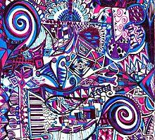 Purple Swirls by trixypeyton