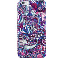 Purple Swirls iPhone Case/Skin