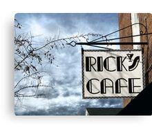 Rick's Cafe Canvas Print