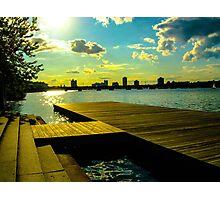 Sunset at the Esplanade Photographic Print