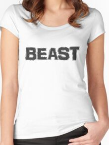 Beast Women's Fitted Scoop T-Shirt